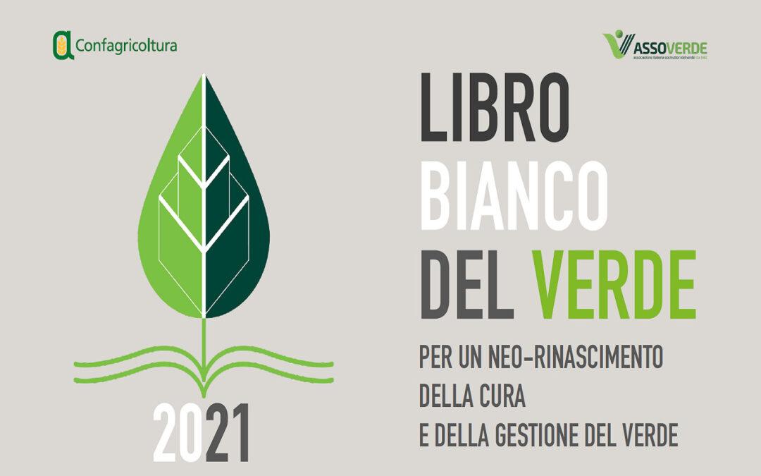 ASSOVERDE: LIBRO BIANCO DEL VERDE, CONVEGNO E WEBINAR 12 OTTOBRE 2021